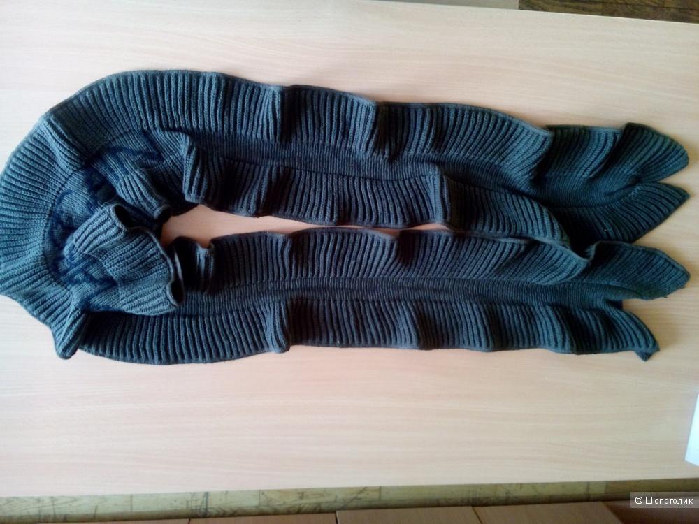 Дизайнерский шарф Marc Cain-80% шерсть