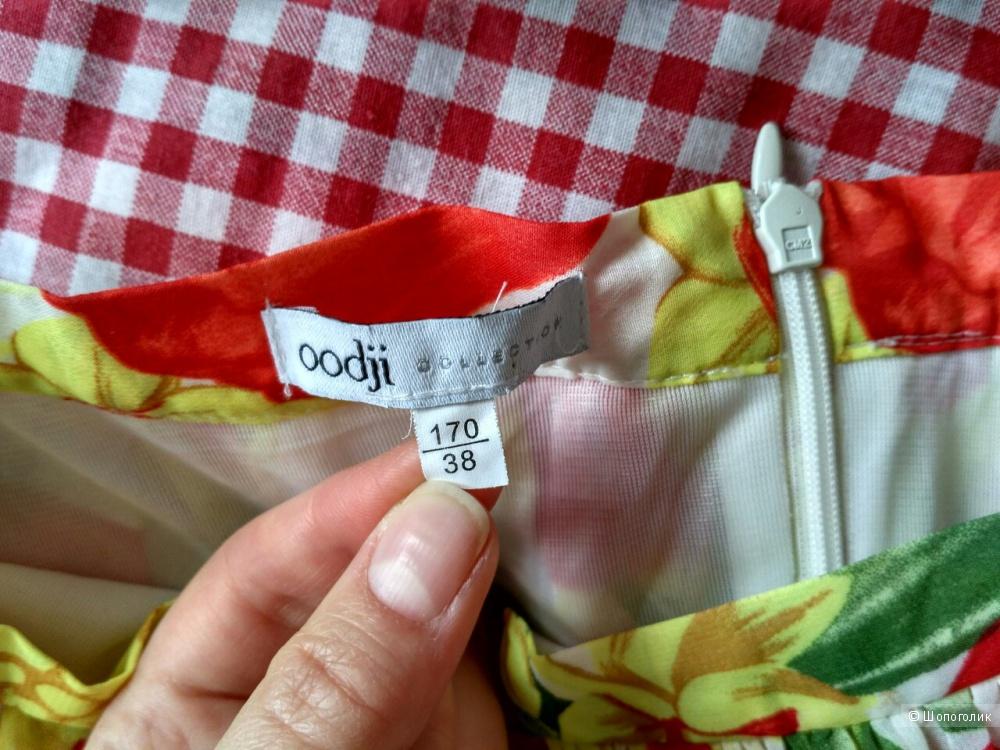 Шифоновая юбка Oodji