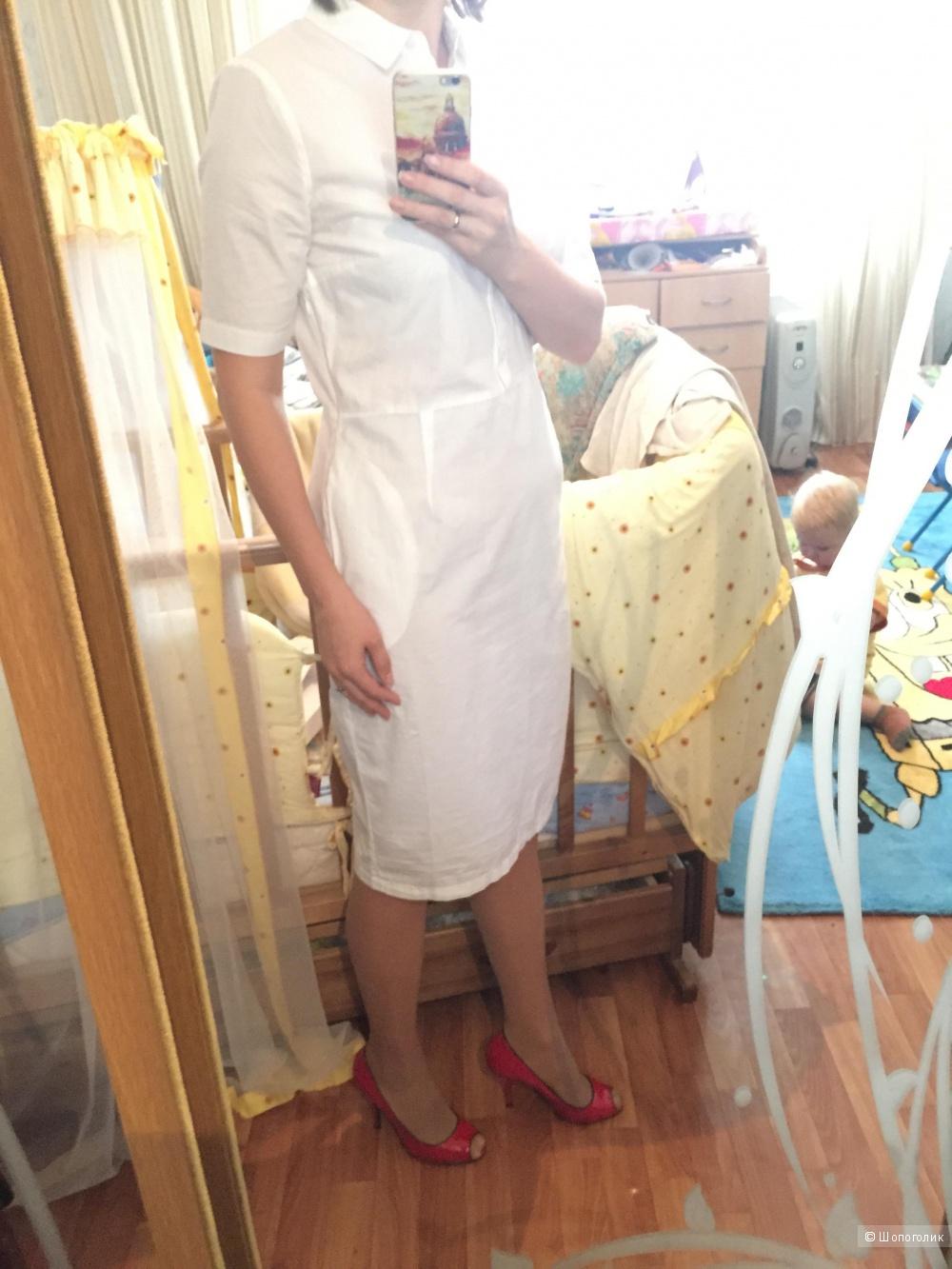 Alpha studio платье-рубашка 44it (46ру)