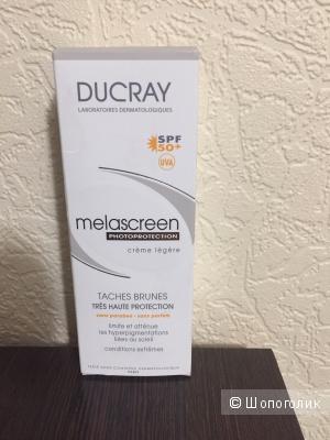 Дюкре Меласкрин Легкий фотозащитный крем SPF 50+, 40 мл (Ducray, Пигментные пятна)