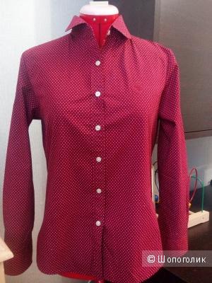 Рубашка женская в горошек