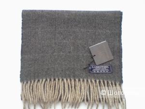 Классический мужской шарф, 100 % шерсть (lana vergine)