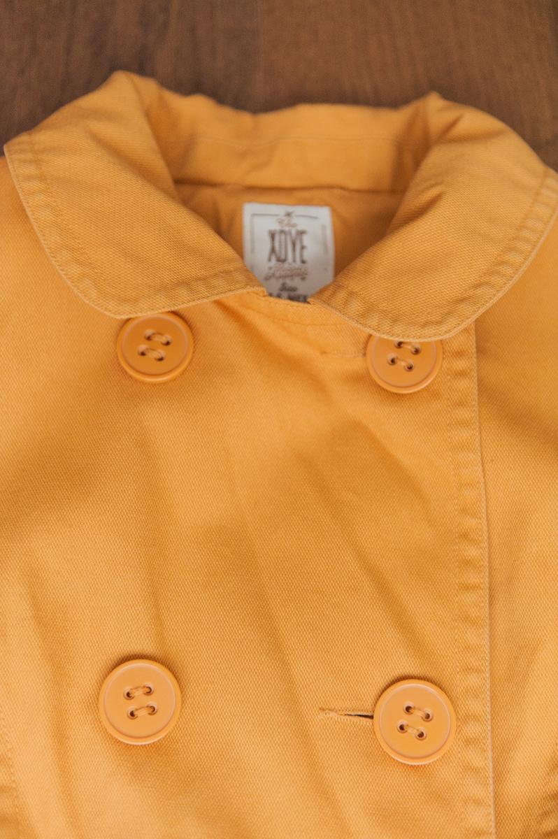 Хлопковый плащ-тренч Pull&Bear, XS-S (40-42)