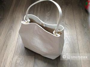 Новая кожаная сумка. Италия