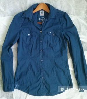 Gaastra рубашка синяя 42-44