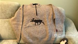 Теплый норвежский свитер