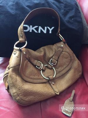 Стильная сумка DKNY США натуральная кожа