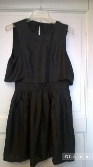 Новое платье 100% шелк