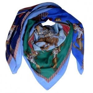 Шикарный новый платок Dispacci 100% шерсть