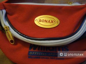 Поясная сумка  SONAX с двумя отделениями новая