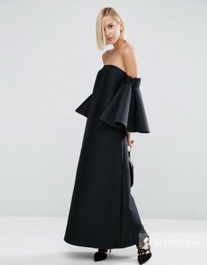 Шикарное черное платье Asos White