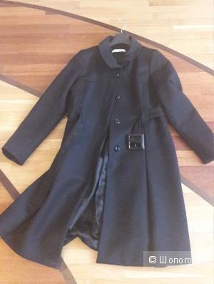 Шерстяное пальто Marella 48 итальянского размера