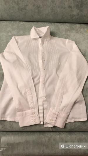 Хлопковая рубашка Lacoste