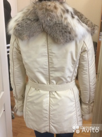 Женская зимняя куртка с мехом рыси Florence Mode
