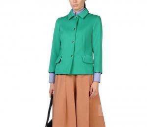 Marni пиджак красивого изумрудного цвета