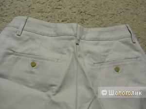 Стильные новые бежевые шорты р.42-44 из пиджачной ткани.