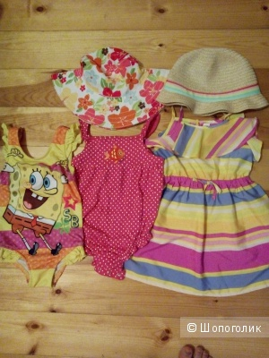 Carter's и Gymboree (оригинал) летняя одежда для девочки 2-3 года.
