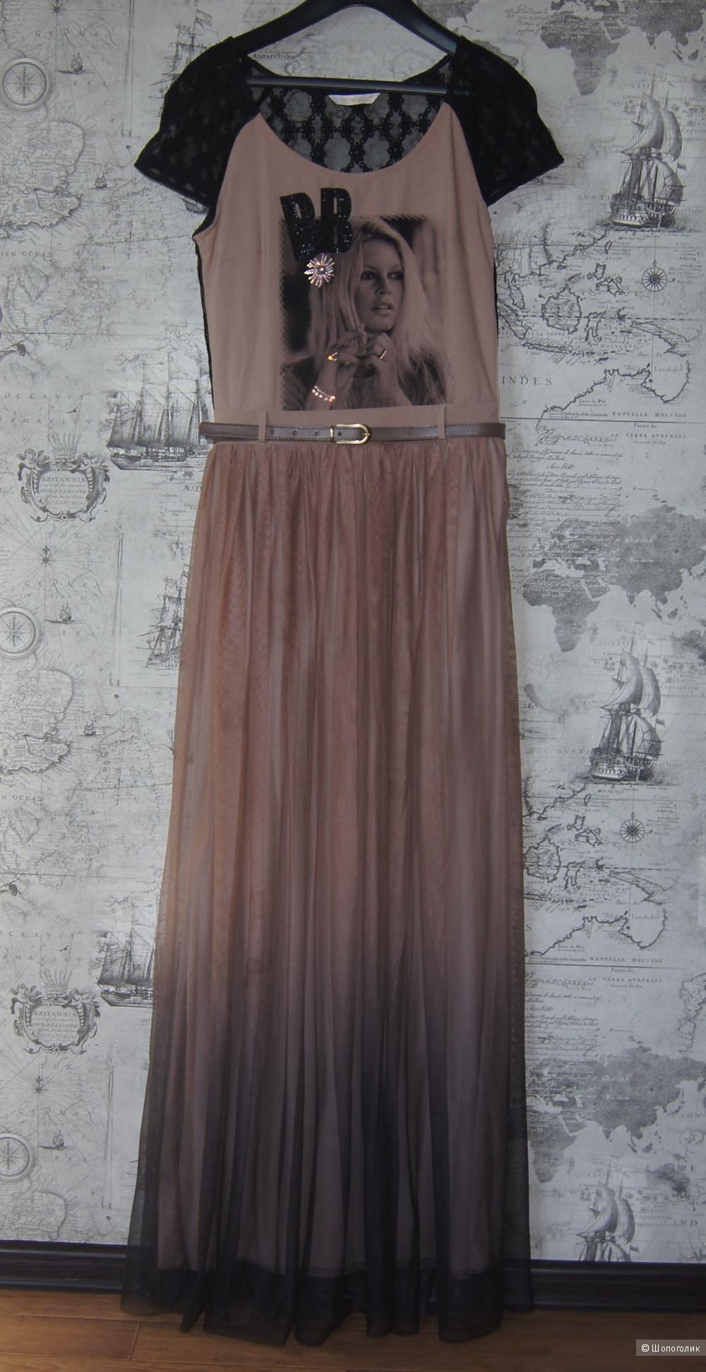 Платье макси Nelly&Co, р-р 44-46