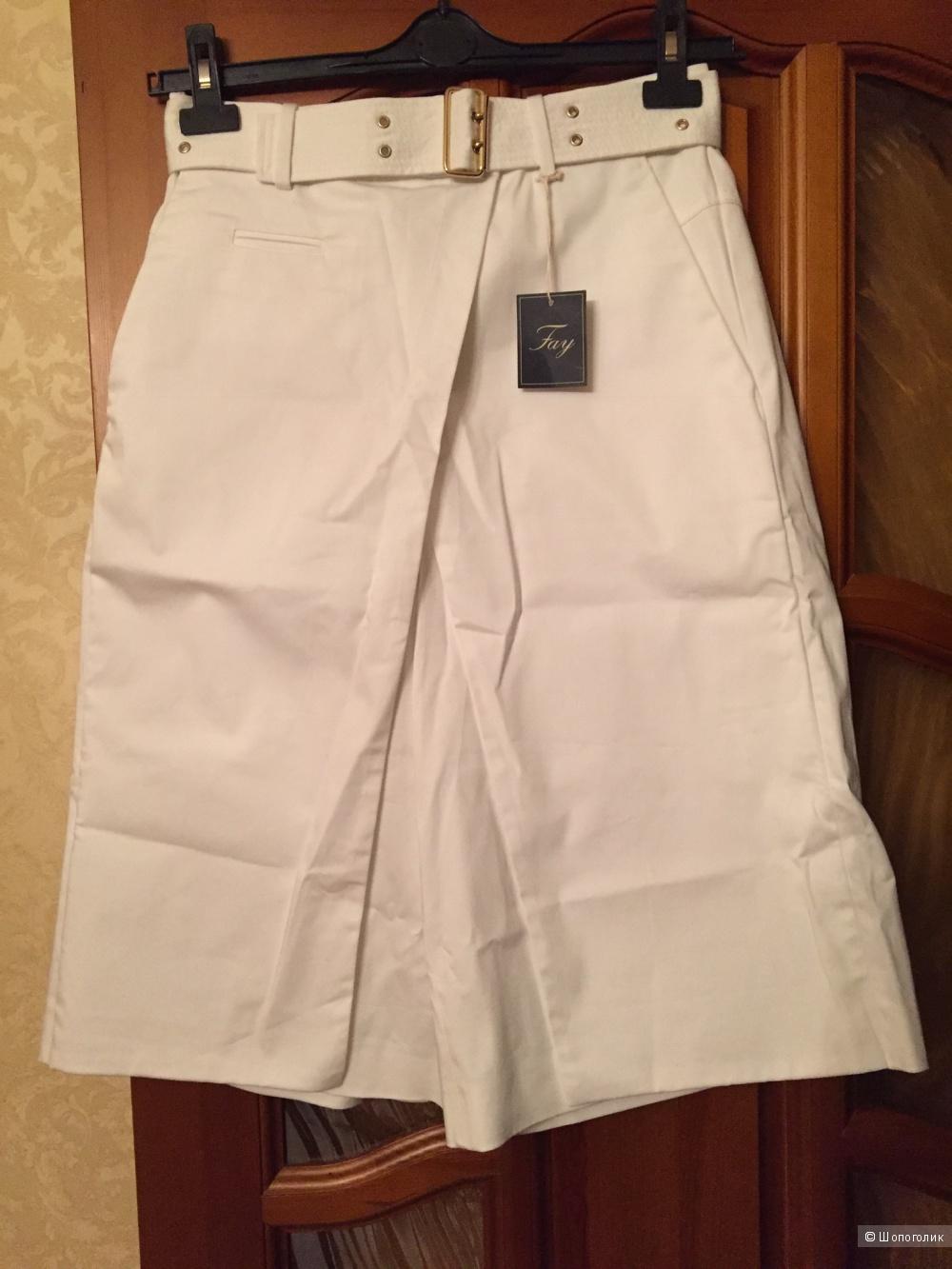 Итальянская хлопковая юбка-капри Fay 44 it