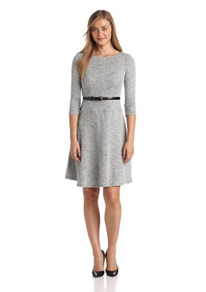 Серое платье Платье Anne Klein