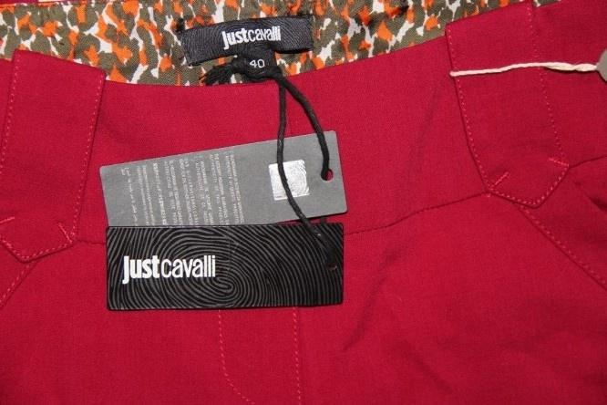 Шикарные брючки на весну Just Cavalli 40IT на полный 44
