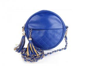 Новая синяя сумка кросс боди