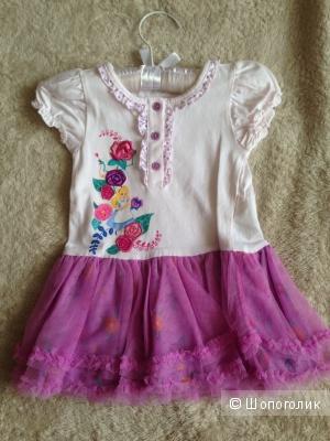 Новое эксклюзивное платье Disney 12-18м.