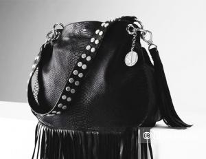 Новая кожаная сумка Stella & Jamie