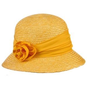 Яркая соломенная шляпа Seeberger, Германия