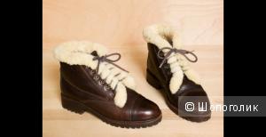 Ботинки на Меху Ralph Lauren Оригинал
