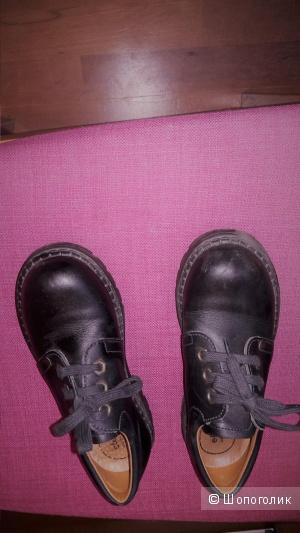 Кожаные ботинки туфли на мальчика Elefanten 30 размера