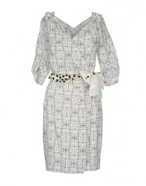 Летнее платье SCHUMACHER из смесовой шелковой ткани. 46-48р