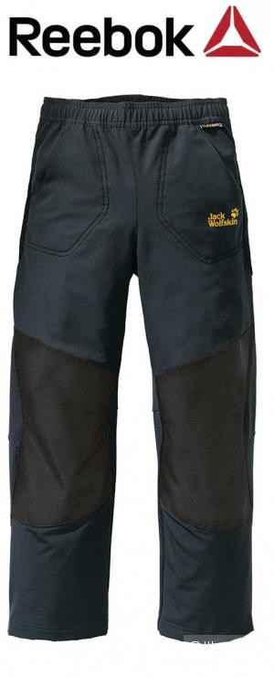 Reebok оригинал, новые детские флисовые штаны, размер 116-122, унисекс.