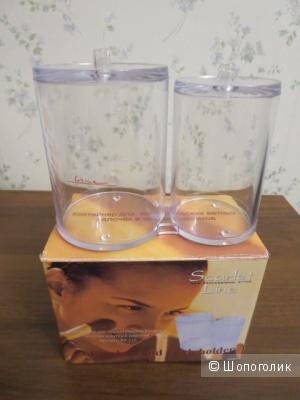 Контейнер для  ватных палочек и ватных шариков + сеточка для взбивания пены Missha Bubble maker