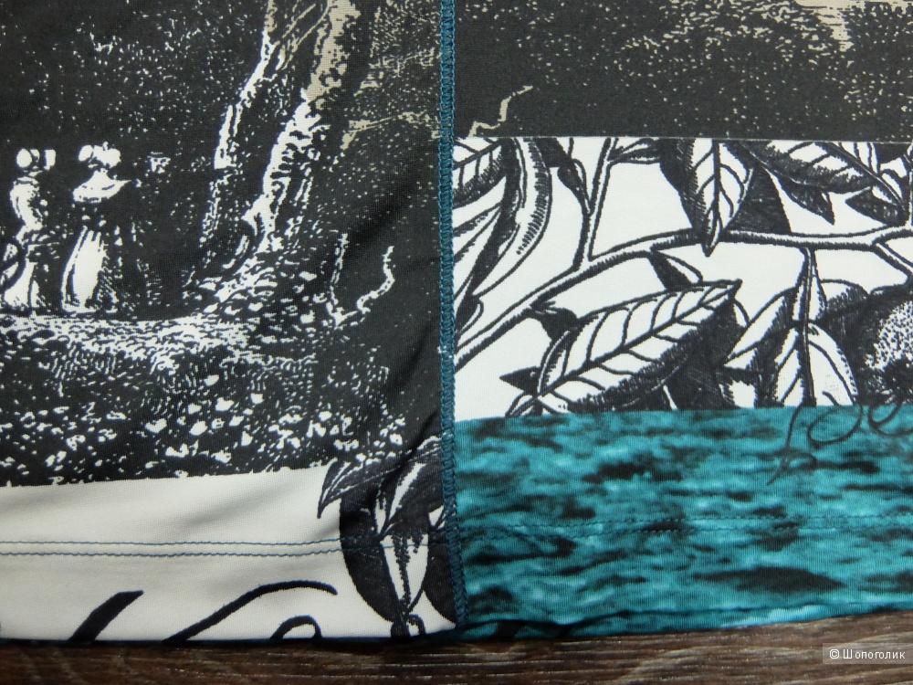 Oui Водолазка мокрый асфальт абстракция (р. 44-46). Новая.