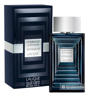 Мужской парфюм Lalique Hommage Voyaugeur 50ml