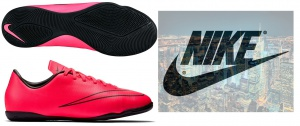 Новая обувь для зала Nike JR Mercurial 12.5 US, унисекс, маленьким футболистам