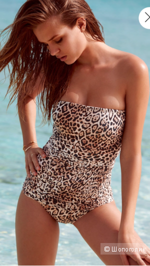Сплошной купальник с платьем Victoria's Secret, новый, размер М