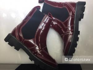 Ботинки из натуральной кожи 38 размер