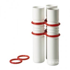 Ваза декор Ikea Livat эмалированая сталь