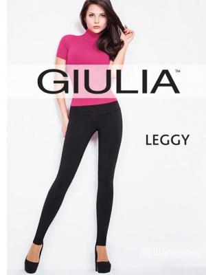 Новые плотные брюки-леггинсы GIULIA с широким поясом