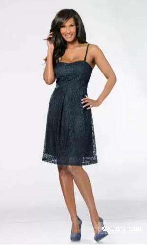 Платье синее. Размер европейский 38