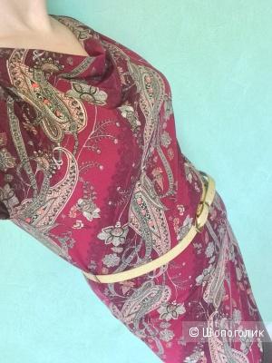 Платье с принтом пэйсли Остин 46-48разм.
