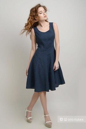 Льняное платье LINORUSSO в стиле new look