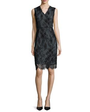 Elie Tahari шикарное платье из кружева р.46-48 с ценником $498.00. Новое.Оригинал