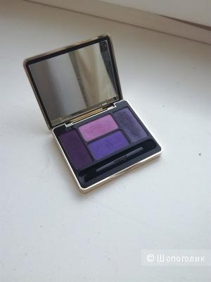 Палетка теней Guerlain Ecrin 4 couleurs в оттенке 01 Les Violets (б/у)