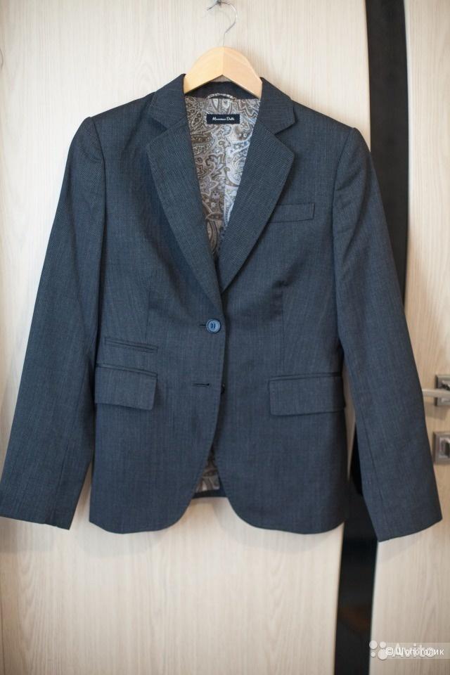 Новый пиджак Massimo Dutti, M-L, без этикетки, в магазине Massimo ... a23eb10da14