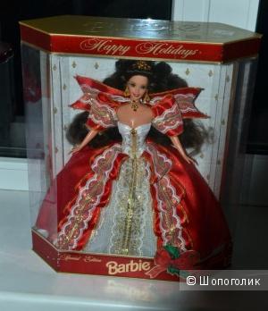 Новая барби коллекционная Happy Holiday Barbie 1997
