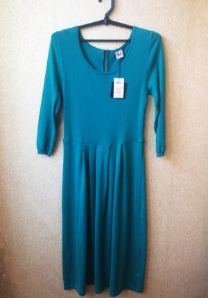 Новое бирюзовое платье миди ASOS (14 размер)