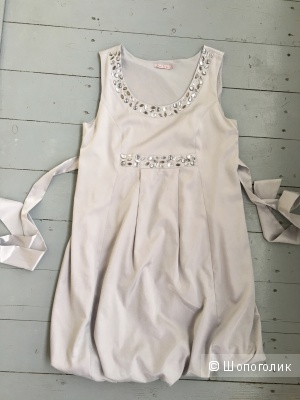 Нарядное платье Буду мамой на торжество